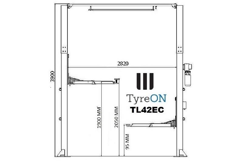 TyreON TL42EC afmetingen