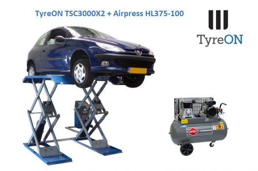 TyreON TSC3000X2 compressor HL375-100
