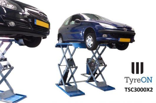 TyreON TSC3000X2 dubbele schaarbrug