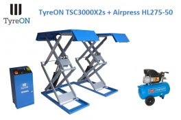 TyreON TSC3000X2s + Airpress HL275-50