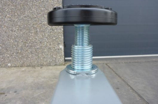 rubber opnamepad hefbrug