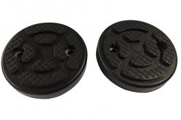 rubber opnamepads