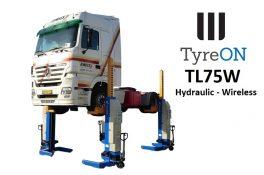 TyreON TL75W hefkolommen voor vrachtwagens