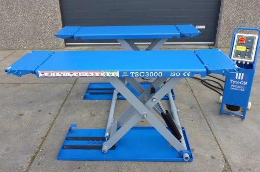 TyreON TSC3000E elektrische auto hefbrug