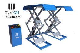 TyreON TSC3000X2s dubbele schaarlift