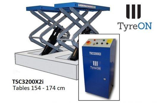 TyreON TSC3200X2i hefbrug inbouw